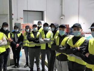 SAINT GAB', LES TRANSPORTS BOZEC & LA STEF EN FORCE À LA SCARMOR