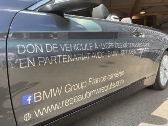 Don d'une BMW série 4 cabriolet