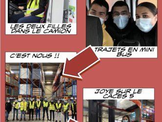 La visite de France Boissons vue par Djaden et Joye